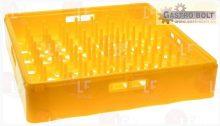 Tartó rács sárga  500x500x100 mm