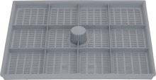 Műanyag belső szűrő tartály 230x200 mm
