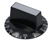 Gomb fekete ø 50 mm 10-120'