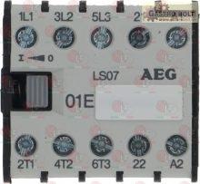 CONTACTOR AEG LS07 7A 400V 3Kw