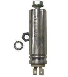 Kondenzátor BOSCH 00055114 5?F 420V 470V dugókkal a keringtető szivattyúmotoros mosogatógép számára