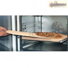 SET pizzakő és fa kanál a sütőbe