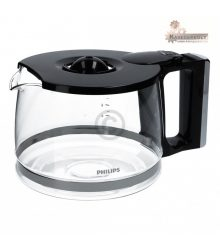 Üvegkancsó PHILIPS 422245954551 CRP728 / 01 Fedélű kávéskanna kávéfőző kávéfőzőhöz