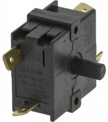 Kapcsoló  0-2 POSITIONS 16A 250V