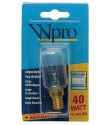 Wpro sütő lámpa 40 W LFO 005 - 481281728322, LFO135 - 484000000978
