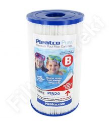 Pleatco tiszta vízszűrő PIN20