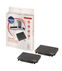 Wpro Aktivált szénszűrő 484000008781, 481281728947 141-es típusú D141 alternatíva az AEG EFF70-hez