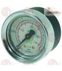 Kazán nyomásmérő ø 40 mm 0÷2.5 bar