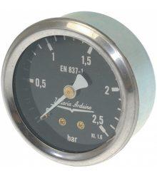 Nyomásmérő óra  ? 62 mm 0÷2.5 bar