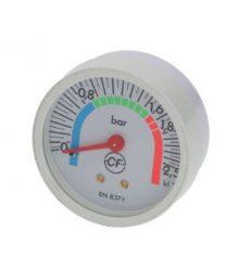 Kazán nyomásmérő ? 57 mm 0÷2.5 bar