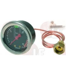 Kazán nyomásmérő  ? 49 mm 0÷15 bar