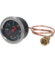 Kazán nyomásmérő ? 49 mm 0÷3 bar