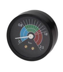 Kazán nyomásmérő Ø 57 mm 0 ÷ 2,5 bar