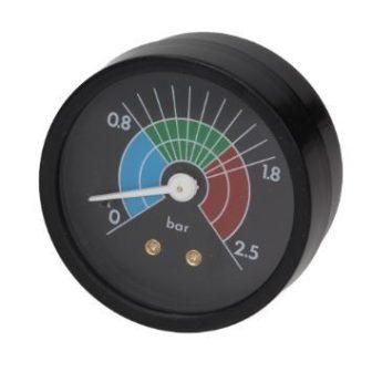 Kazán nyomásmérő ? 57 mm 0 ÷ 2,5 bar