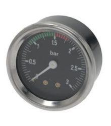 Kazán nyomásmérő ø 60 mm 0÷3 bar