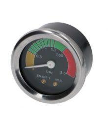 Kazán nyomásmérő ø 52 mm 0÷2.5 bar