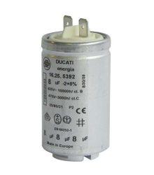 Kondenzátor AEG 125002033/4 8?F 425 / 475V, szárító dugókkal