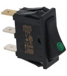Kapcsoló 1-POLE BLACK 16A 250V