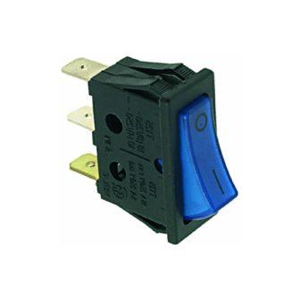 Egypólusú kapcsoó (kék) 16A 250V