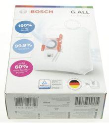 Szűrőzsák BOSCH G típusú G ALL 17000940 BBZ41FFGALL porszívóhoz 4p