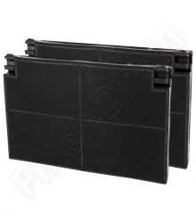Filtronix aktivált szénszűrő alternatívája az AEG Electrolux EFF70-nek 9029793552 (csomag 2 darab)