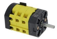 kiválasztó kapcsoló 0-4 pozíció 20A 600V