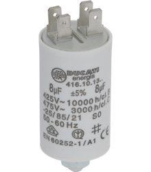 Kondenzátor  ľF 8 450V 50/60Hz