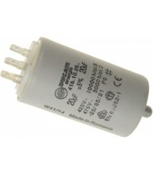 Kondenzátor µF 20 450V 50/60Hz