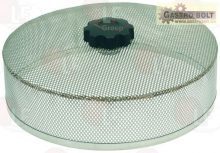 rozsdamentes acél szűrő komplett ø 195x55 mm