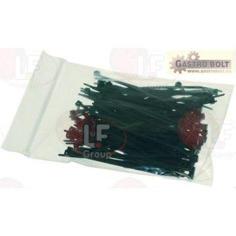 fekete szorító 2.5x100 mm - 100 PCS