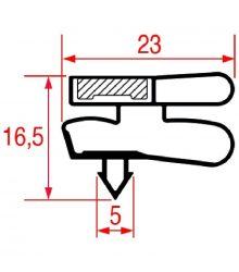 SNAP-IN GASKET 1705x575 mm