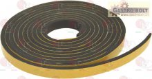 Ragasztható szivacs tömítés 6x2.5 mm