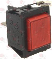 Jelzőfény piros 230V