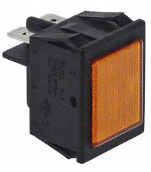 Jelzőfény narancssárga 220V