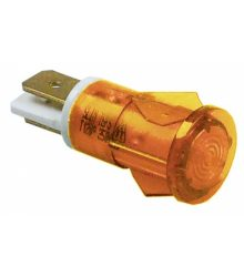 jelzőfény narancssárga 230V