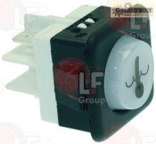 hőmérséklet jelzőfény 16A 250V