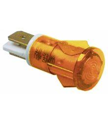 Jelzőfény narancssárga 250V