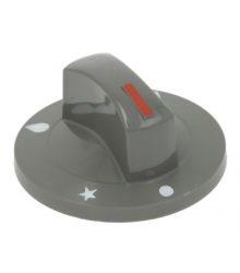 Szürke gomb ? 71 mm SILK-SCREEN PRINTED