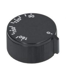 Gomb fekete ø 45 mm 90-180°C