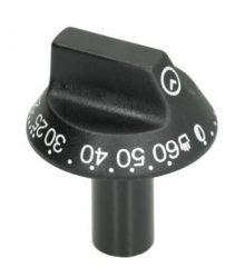 Gomb fekete ? 54 mm 0-60°C