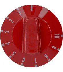 Piros gomb ø 50 mm 0-10