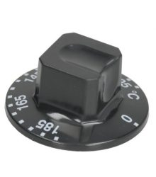Gomb fekete ø 55 mm 105-185°C