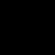 Gomb fekete ø 54 mm