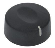 Gomb fekete ø 42 mm