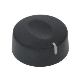 Gomb fekete ? 42 mm