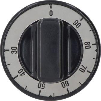 Fekete gomb ø 70 mm 30-90°C