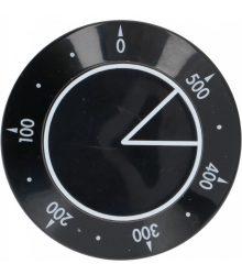 fekete gomb ? 58 mm 0-500°C