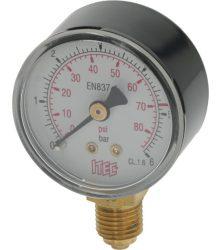 Nyomásmérő CO2/N2 LP 0-6 bar 1/4G