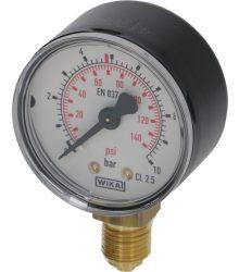 Nyomásmérő CO2/N2 LP 0-10 bar 1/4G