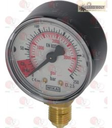 nyomásmérő CO2 HP 0-250 bar 1/4G